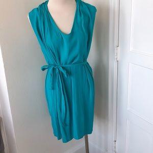 Teal Green sleeveless dress size M